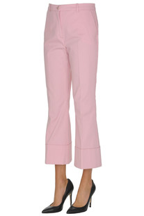 'Invocare' cropped trousers Pinko