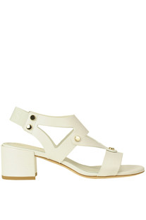 Textured leather sandals  Tod's