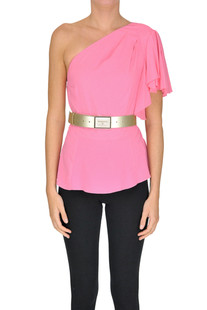 One shoulder top Patrizia Pepe