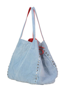 Studded denim bag Mia Bag
