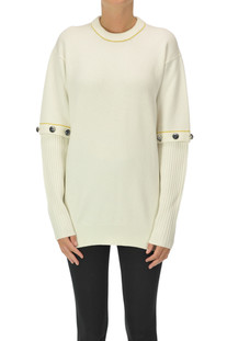 Wool and cashmere pullover Chloé
