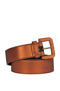 Metallic effect fabric waistbelt Dries Van Noten