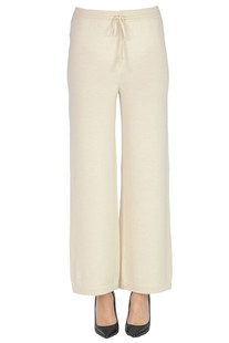 Cashmere and silk knit trousers Vivì