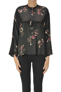 Printed silk shirt Vince