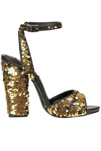 Sequined sandals Steve Madden