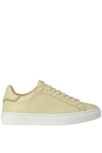 Grainy leather sneakers Fabiana Filippi