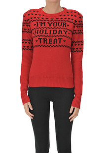 I'M Your Holiday Treat pullover PHILOSOPHY di Lorenzo Serafini
