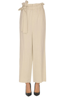 Viscose-blend trousers Alysi