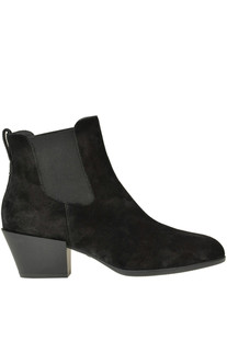 H401 Chelsea suede ankle boots Hogan
