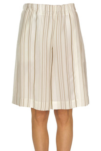 Striped bermuda shorts Jil Sander