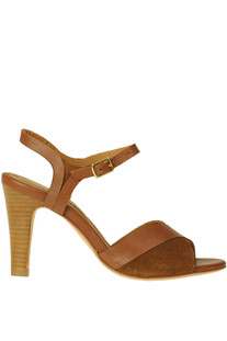 Leather and suede sandals Anthology Paris
