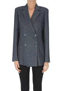 Fleur double-breasted blazer Max Mara Studio