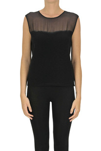 Wool and silk top Federica Tosi