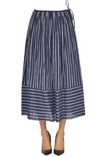 Striped cotton skirt Aspesi
