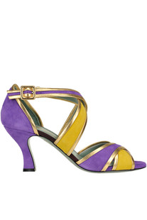 Tango style sandals Paola D'Arcano