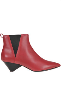 Leather ankle-boots Ash