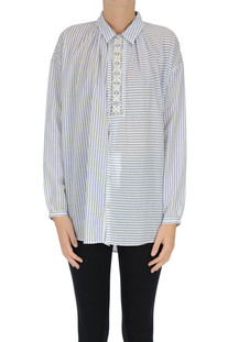 Oversized striped shirt Zucca