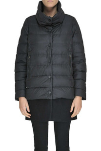 Wool-blend cloth insert down jacket Fleury 29
