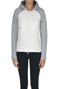 Fleece inserts down jacket Peuterey