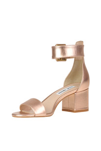 Metallic effect leather sandals Steve Madden