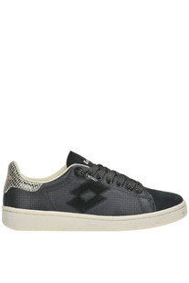 Autograph textured leather sneakers Lotto