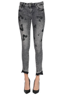 Ideal embroidered jeans Liu Jo