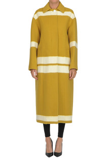 Striped long coat Céline