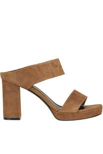 Suede heeled mules Yosh Collection