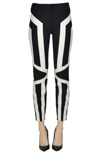 Stretch fabric trousers Elisabetta Franchi