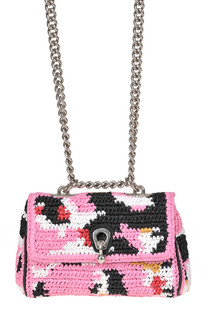 Woven rafia mini shoulder bag Ermanno Scervino