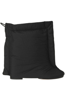 Pillow padded nylon ankle boots MM6 by Maison Margiela