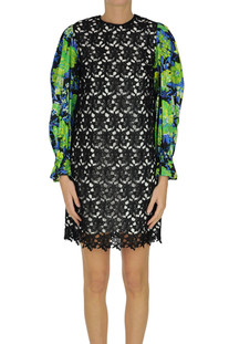 Macramè lace dress MSGM