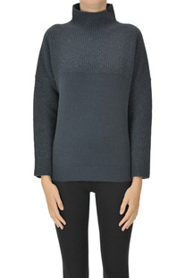 Turtleneck pullover with lurex Peserico