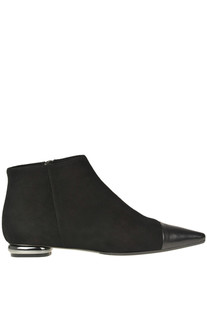 Suede ankle-boots Anna Baiguera