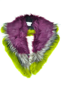 Eco-fur collar Dries Van Noten