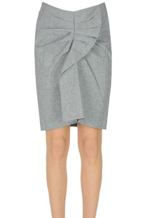 Micro houndstooth print skirt Isabel Marant Etoile