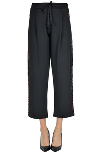 Sequined side bands trousers Sweet Matilda