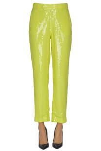 Sequined trousers MSGM