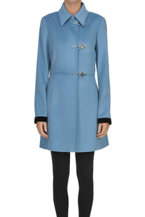 Wool and cashmere coat Fay