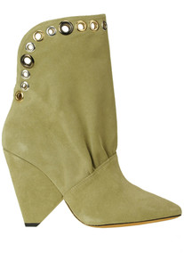 Sudeka studded suede ankle boots Iro