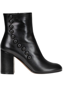 Embellished leather ankle boots L'Autre Chose