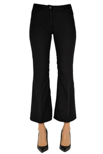Flared cotton trousers N.21