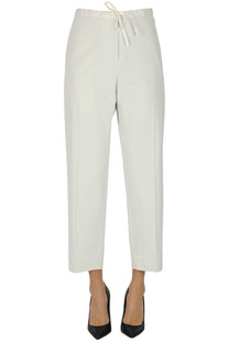 Drawstring trousers Jil Sander