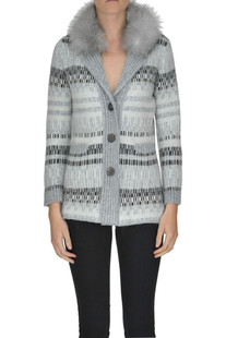 Printed cardigan jacket Anneclaire
