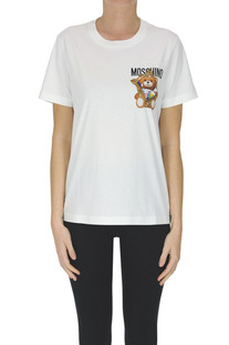 Cotton t-shirt Moschino Couture