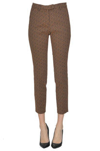 Jacquard cloth trousers Seventy