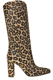 Animal print haircalf boots Via Roma 15
