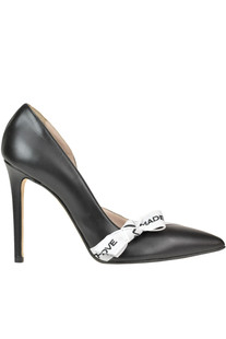 Leather pumps Mangano