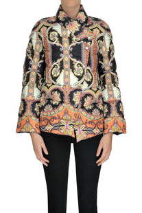 Printed down jacket Etro