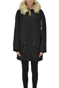 Techno fabric parka coat Marc Jacobs